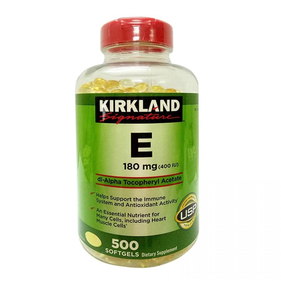 Vitamin E 400 IU 500 Viên Kirkland Của Mỹ