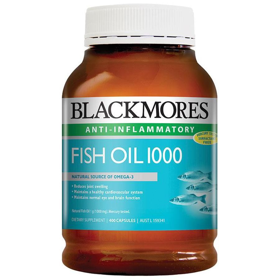 Dầu Cá Blackmores Fish Oil 1000 Mg Bổ Sung Omeaga 3 Tự Nhiên