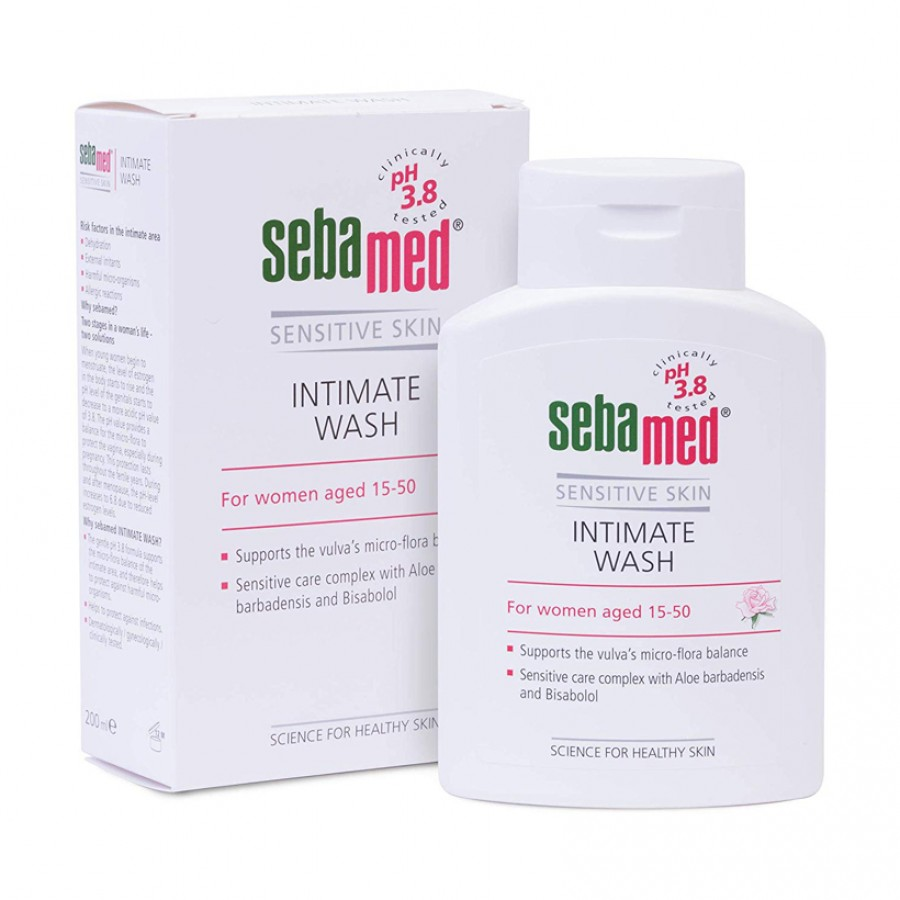 Dung Dịch Vệ Sinh Phụ Nữ PH 3.8 Sebamed Feminine Intimate Wash