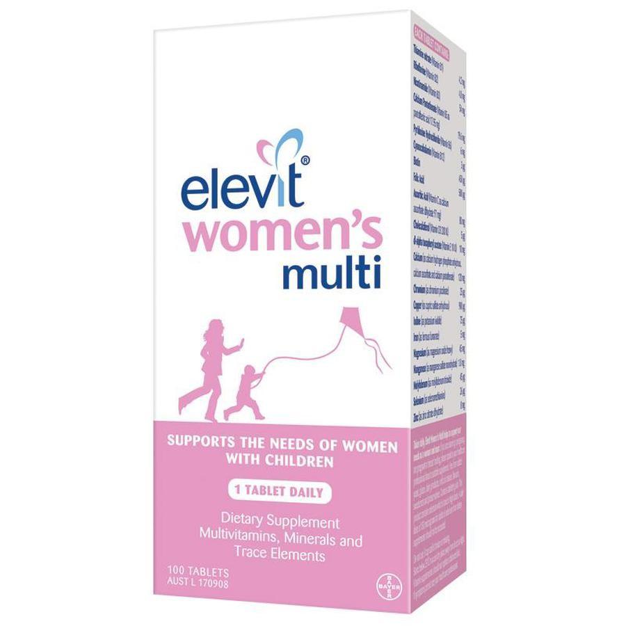 Elevit Women's Multi - Vitamin Tổng Hợp Cho Phụ Nữ Đang Nuôi Con