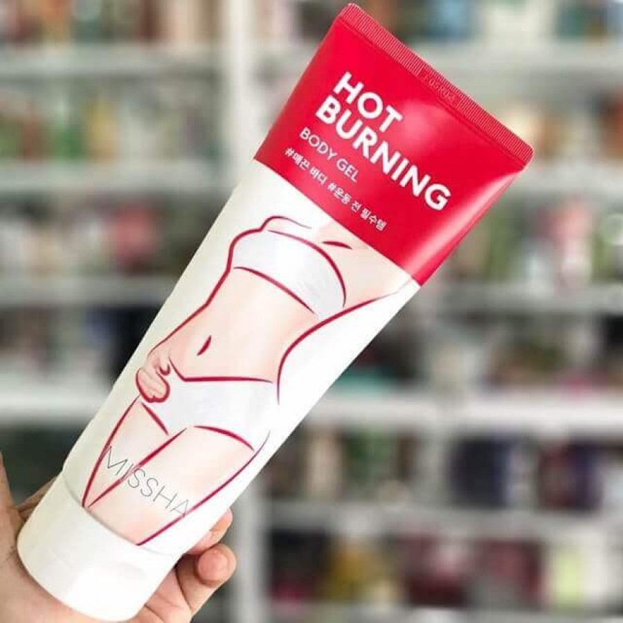 Kem Tan Mỡ Bụng Missha Hot Burning Perfect Body Gel (Hàn Quốc)