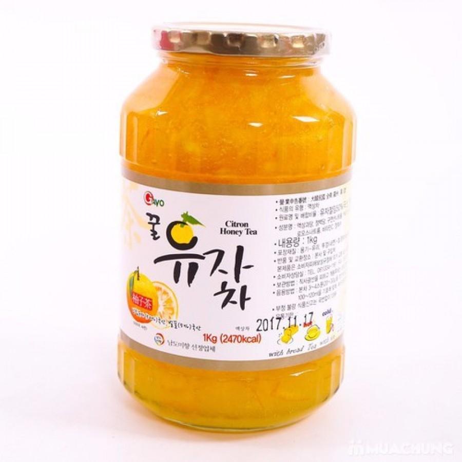 Mật Ong Chanh Đào Hàn Quốc 1kg