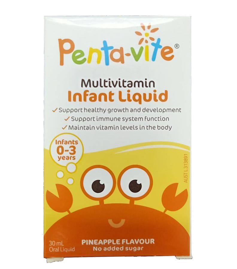 Siro Vitamin Tổng Hợp Pentavite Cho Trẻ Từ 0-3 Tuổi