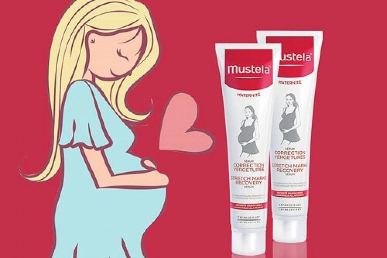 Tinh Chất Làm Mờ Vết Rạn Mustela Cho Mẹ Bầu