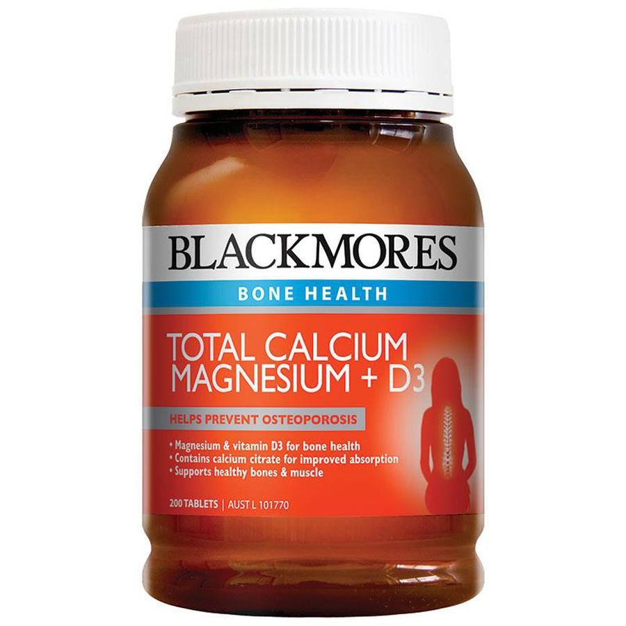 Viên Uống Bổ Sung Calcium & Magnesium + D3 Blackmores