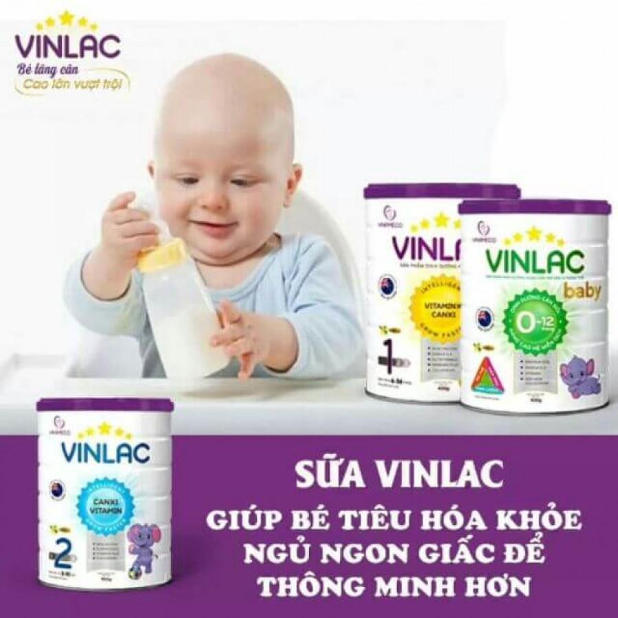 Sữa Vinlac 1 Cho Trẻ Từ 6 Đến 36 Tháng Tuổi