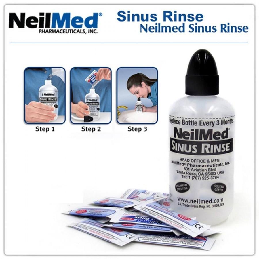 Bình Rửa Mũi NeilMed Sinus Rinse Cho Người Lớn
