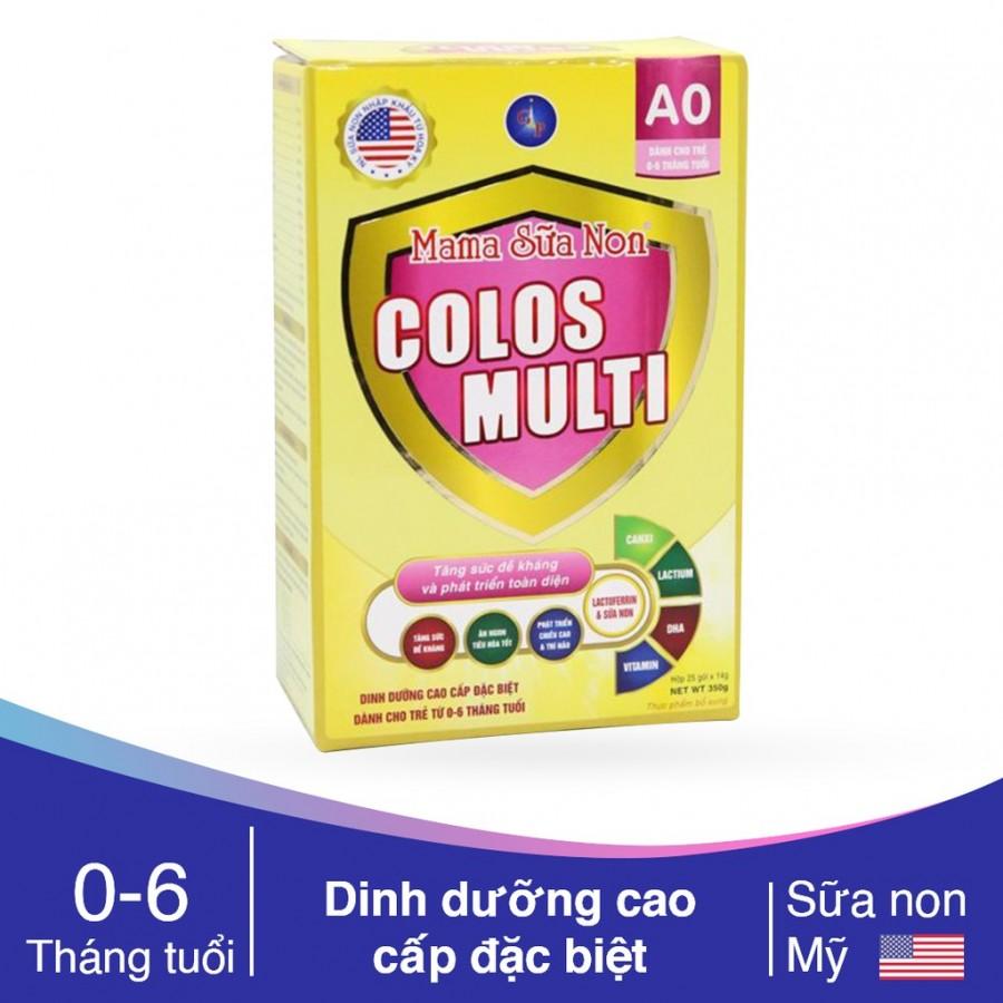 Mama Sữa Non Colos Multi A0 Tăng Đề Kháng