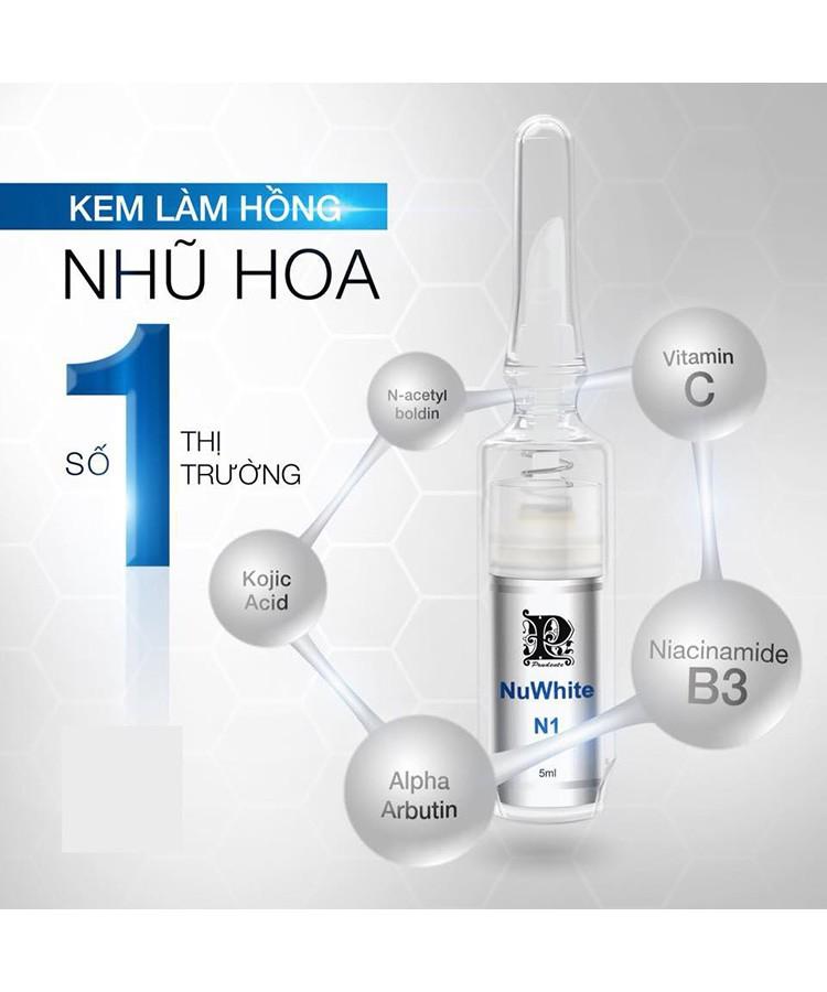 Nuwhite N1 Mibiti Prudente - Kem Làm Hồng Nhũ Hoa