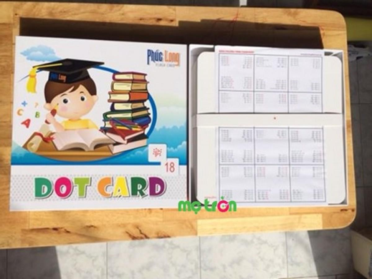 Bộ Thẻ Dot Card Dạy Trẻ Học Toán