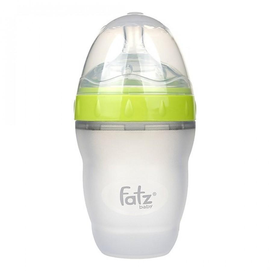Bình Sữa Silicon Fatz Baby Cổ Rộng 180ml