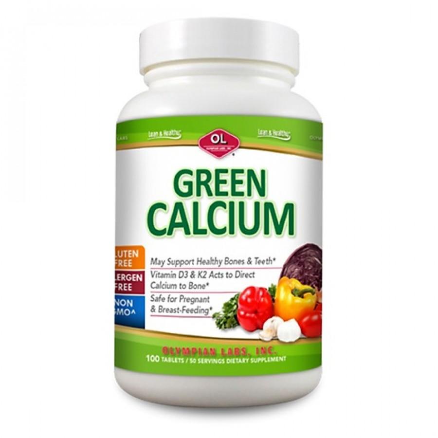 Green Calcium Thực Phẩm Hỗ Trợ Bổ Sung Canxi Hữu Cơ Cho Bà Bầu 100v