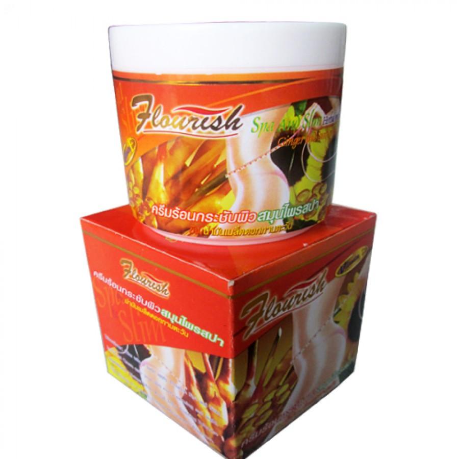 Kem Tan Mỡ Bụng Gừng Ớt Flourish Thái Lan 700ml