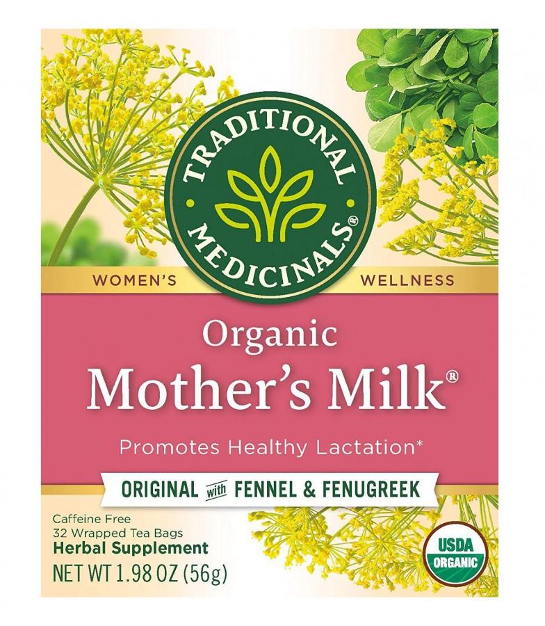 Trà Lợi Sữa Organic Mother's Milk Của Mỹ