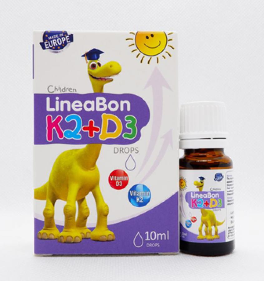 Vitamin LineaBon K2 + D3 Giúp Cho Hệ Xương Và Răng Chắc Khỏe