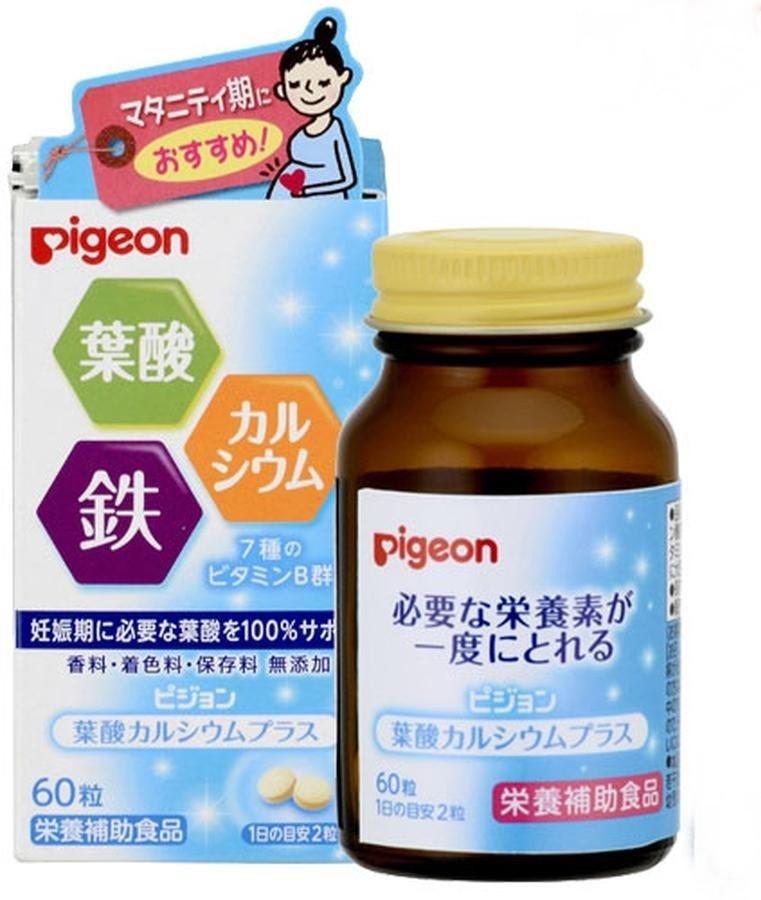 Vitamin Tổng Hợp Cho Mẹ Bầu Pigeon Hộp 60 Viên
