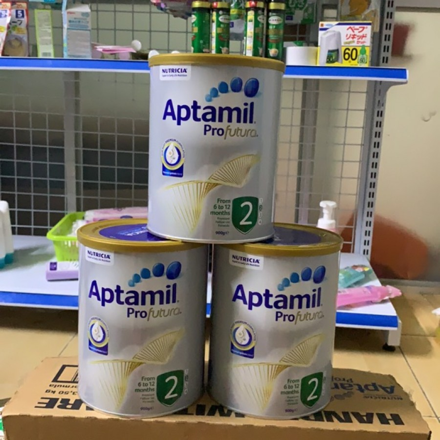 Sữa Aptamil Úc Số 2 Cho Trẻ 6 Đến 12 Tháng Tuổi [900g]