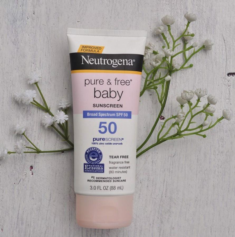 Kem Chống Nắng Cho Trẻ Neutrogena Baby SPF 50