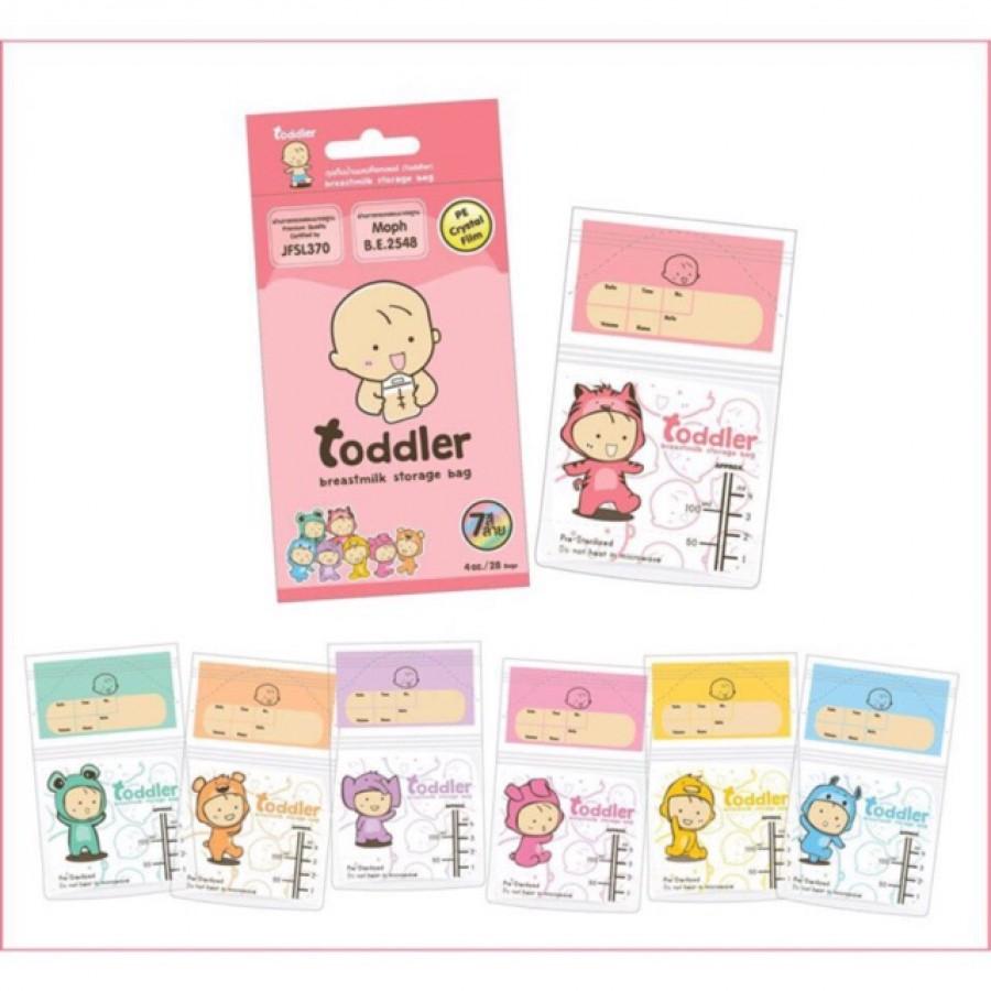 Túi Trữ Sữa Toddler 120ml Thái Lan Cao Cấp