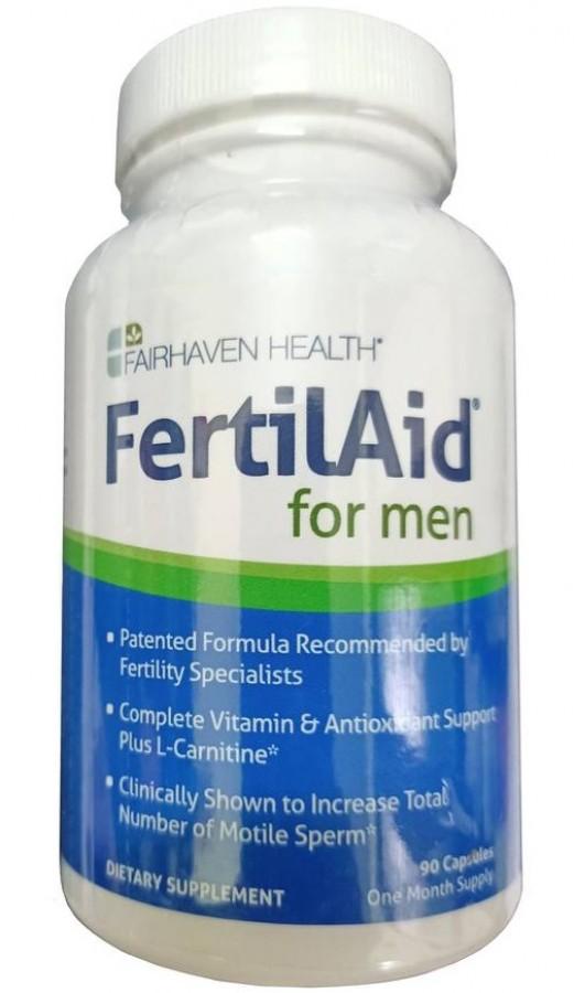 Viên Uống Hỗ Trợ Sinh Sản Nam FertilAid For Men (Mỹ)