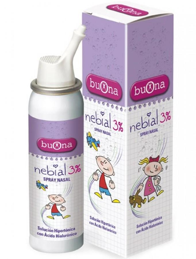 Dung Dịch Nhỏ Mũi Nebial  Spray Dạng Xịt