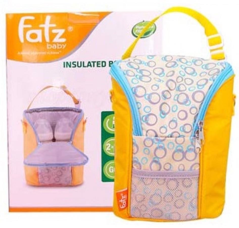 Túi Giữ Nhiệt Bình Sữa Đôi Fatzbaby FB 2006SL