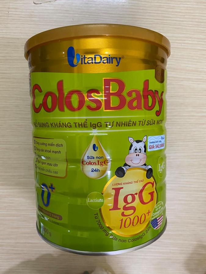 Sữa Non Colosbaby Gold 0+ 800gr
