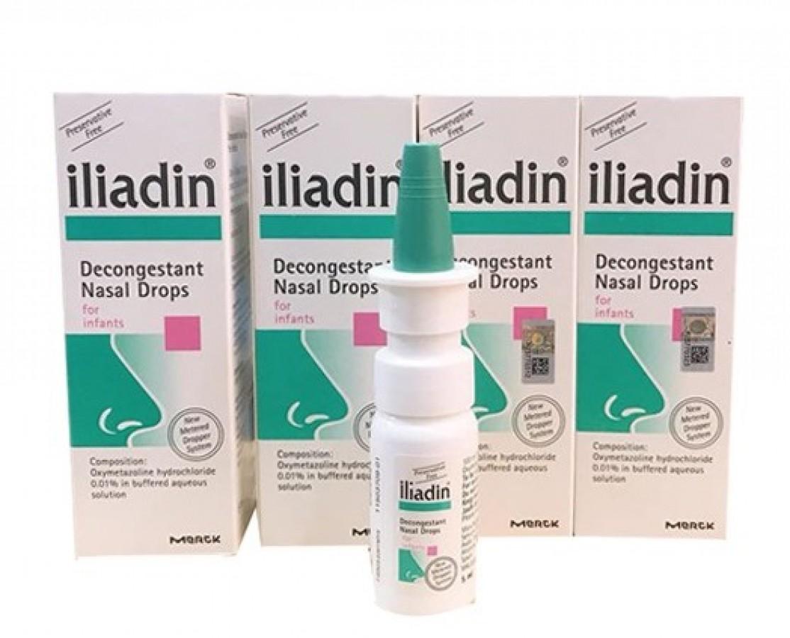 Dung Dịch Xịt Mũi Iliadin 0.01% Cho Trẻ Từ 0 - 12 Tháng Tuổi