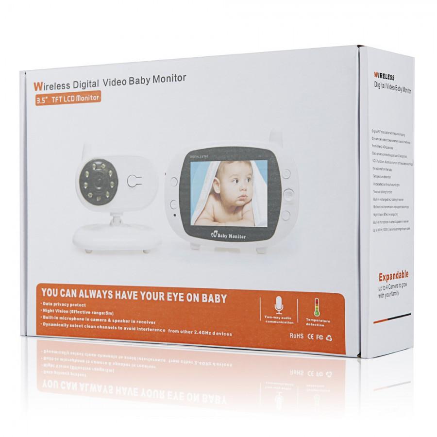Máy Báo Khóc Baby Monitor Mbk05 Full HD 3,5 Inh