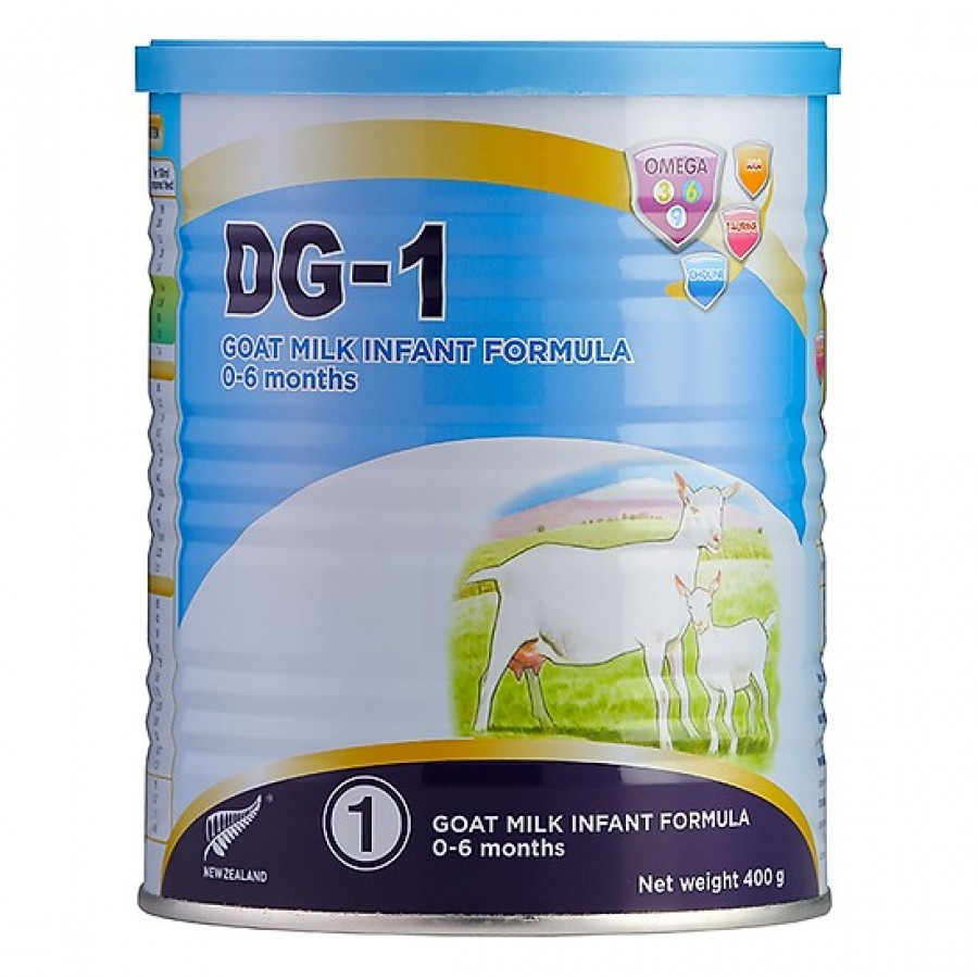 Sữa Dê DG1 Newzealand Cho Bé Từ 0 Đến 6 Tháng Tuổi
