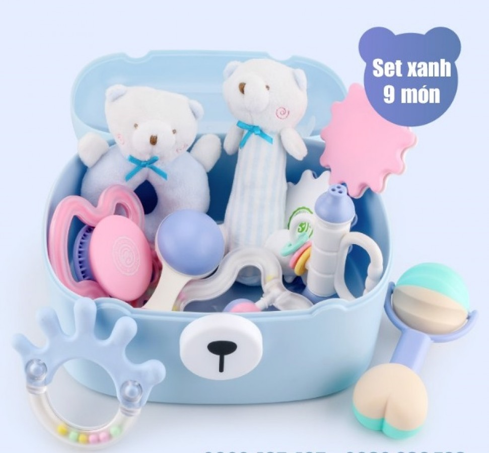 Set Đồ Chơi Goryeo Baby 9 Món Cho Bé 0-18 Tháng