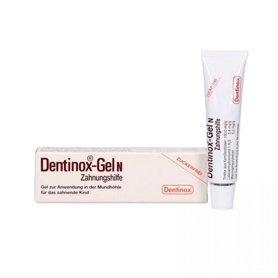 Gel Dentinox Gel N Bôi Hỗ Trợ Giảm Đau Lợi Khi Trẻ Mọc Răng