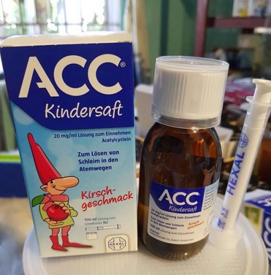 Siro ACC Kindersaft Hỗ Trợ Làm Long Đờm Cho Bé Từ 2-14 Tuổi