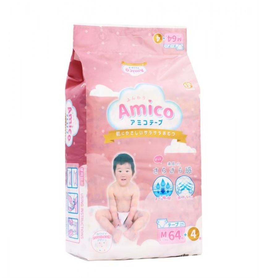 Bỉm Amico Nội Địa Nhật Bản Cho Bé Loại Dán, Quần