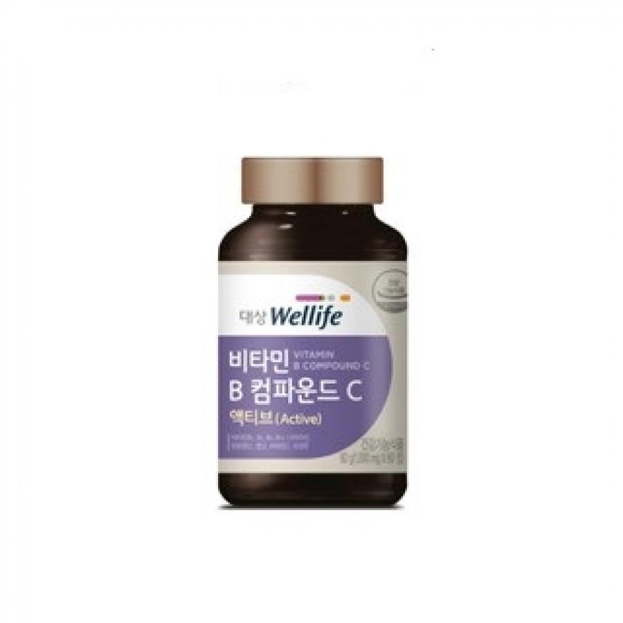 Viên Uống Hỗ Trợ Bổ Sung Vitamin B Và C Daesang Wellife