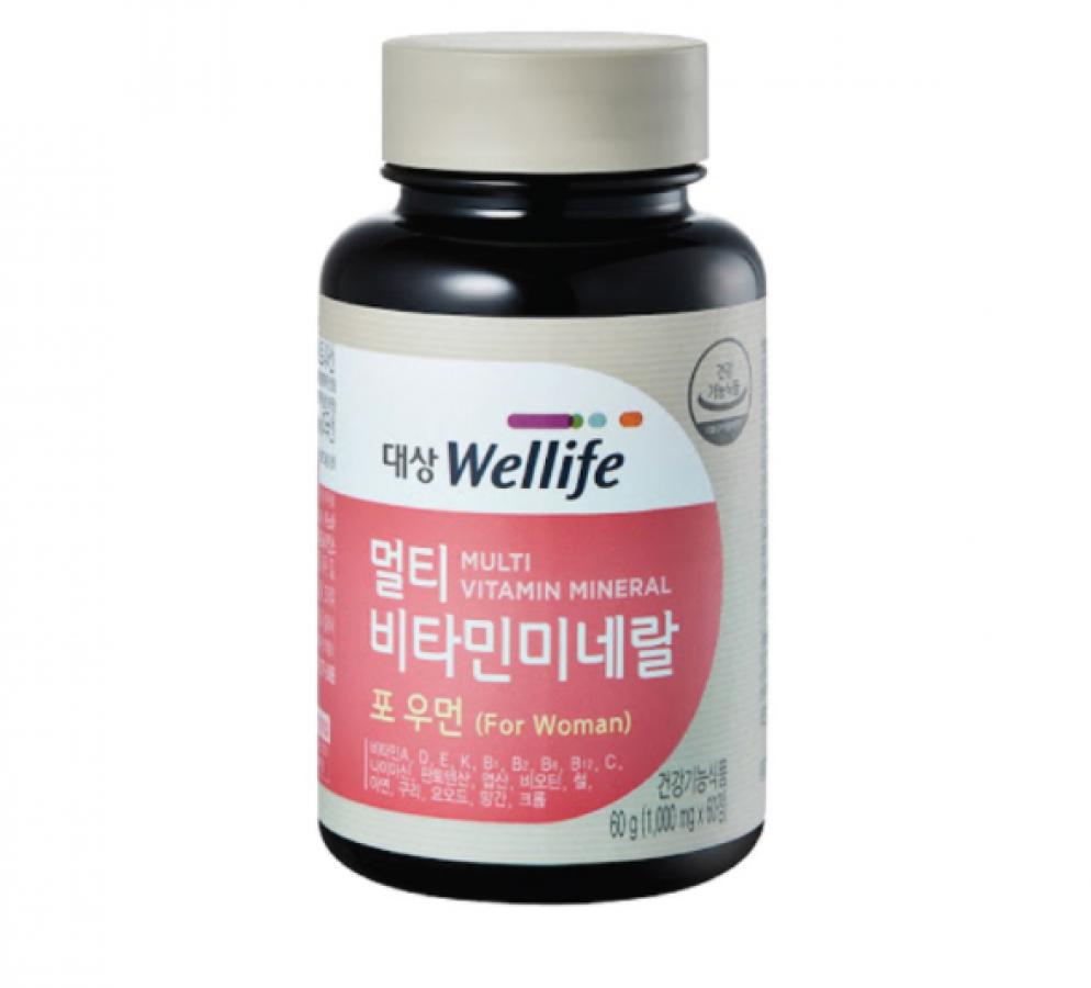 Viên Uống Hỗ Trợ Bổ Sung Vitamin Cho Phụ Nữ Daesang Wellife