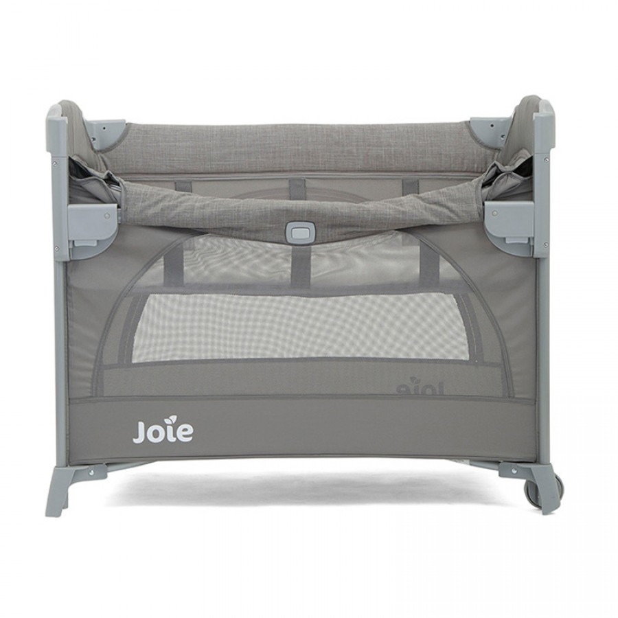 Giường Cũi Cao Cấp Joie Kubbie Sleep Foggy Gray