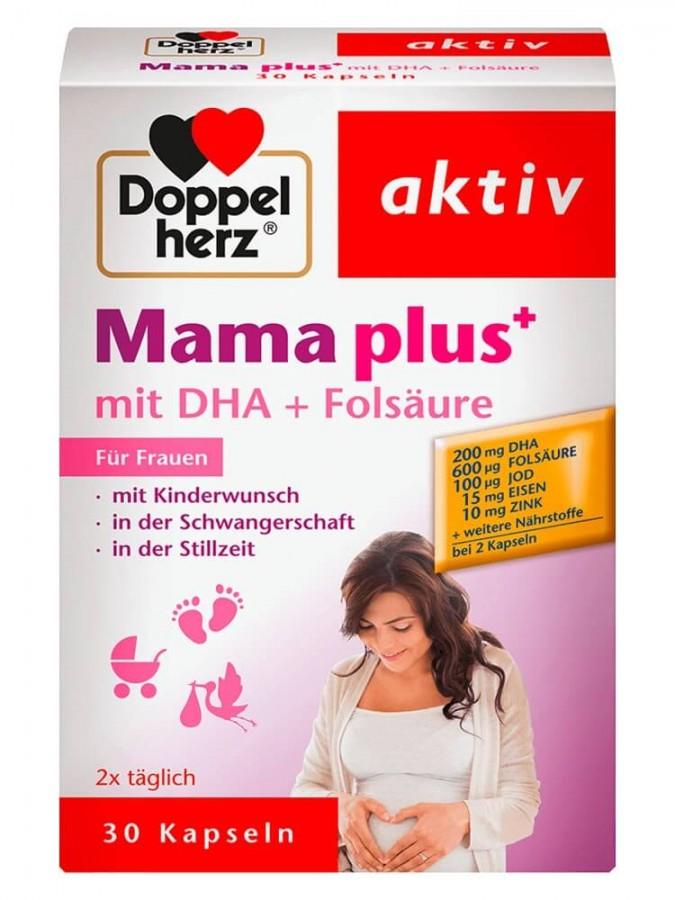 Vitamin Tổng Hợp Cho Bà Bầu Doppelherz Aktiv Mama Plus