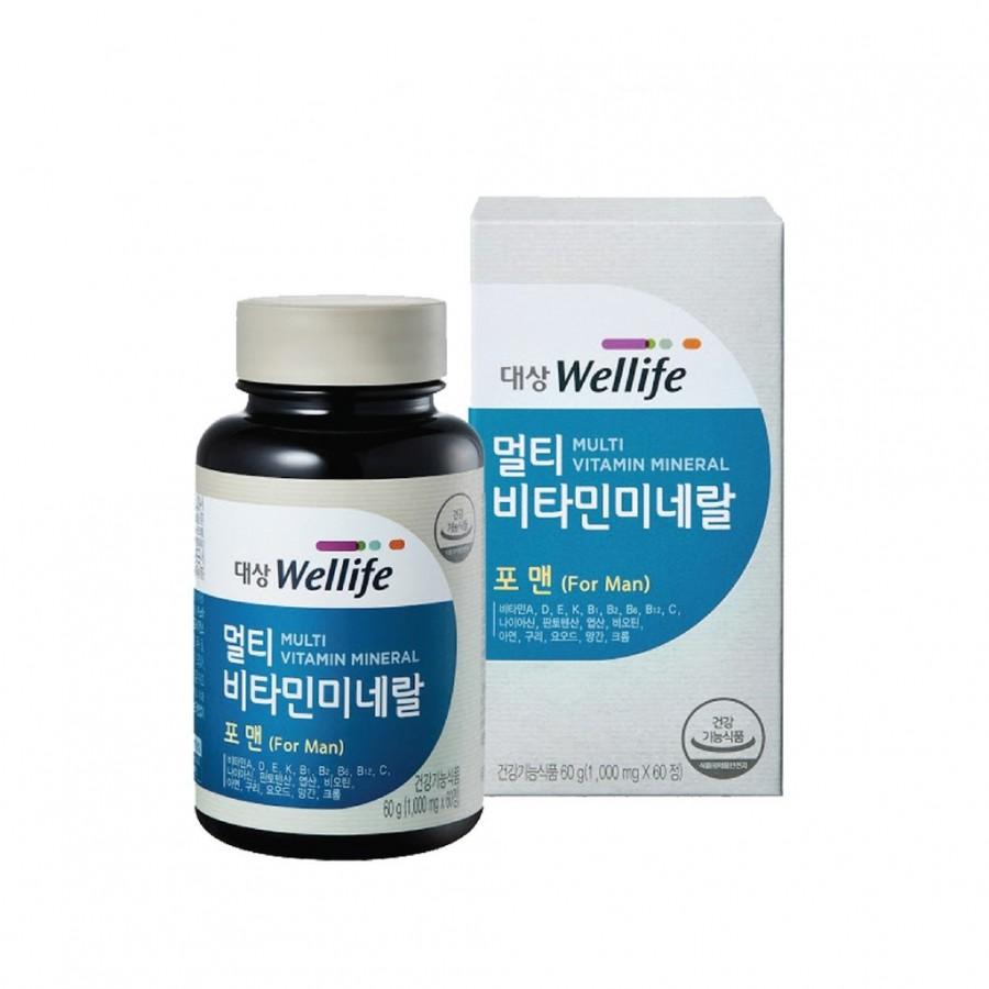 Viên Uống Hỗ Trợ Bổ Sung Vitamin Cho Nam Giới  Daesang Wellife