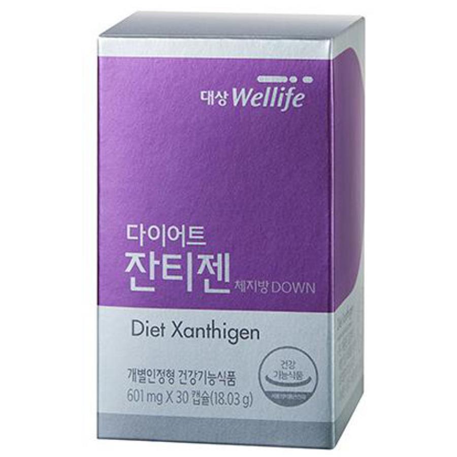 Viên Uống Hỗ Trợ Giữ Dáng Hàn Quốc Xanthigen Daesang Wellife Diet Xanthigen 30 Viên