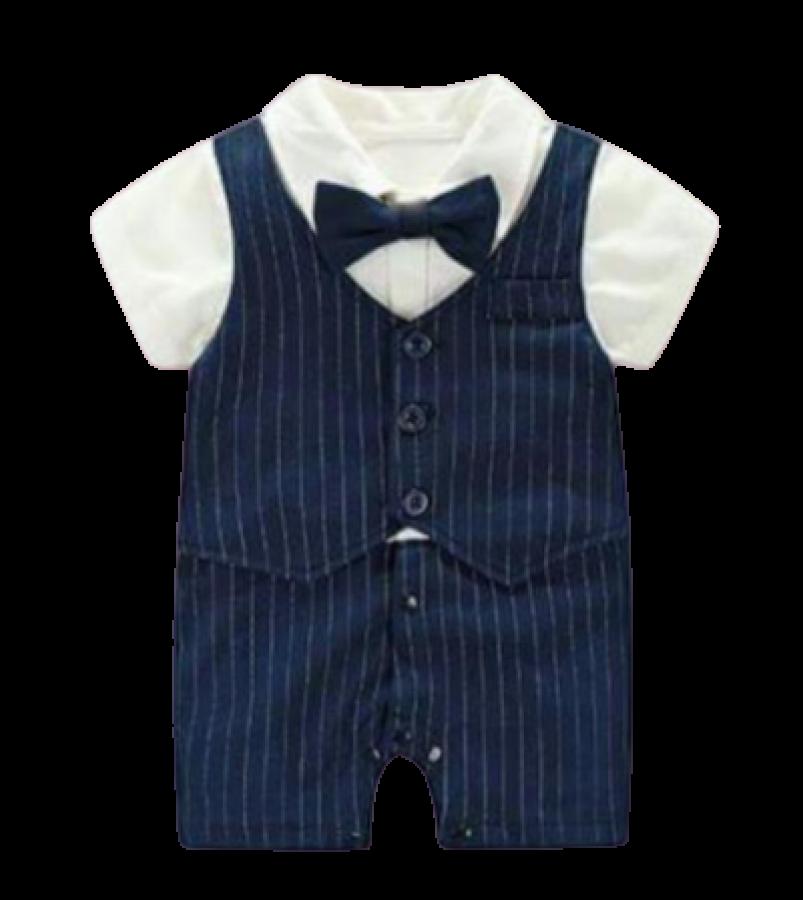 Bộ Body Giả Vest Công Tử Dành Cho Bé Trai