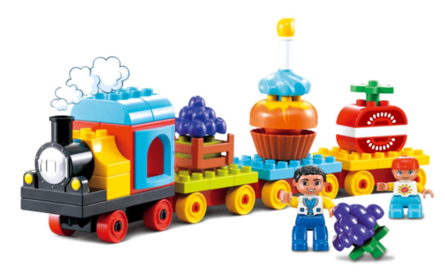 Bộ Lắp Rắp Tàu Hỏa Toyshouse Cho Bé