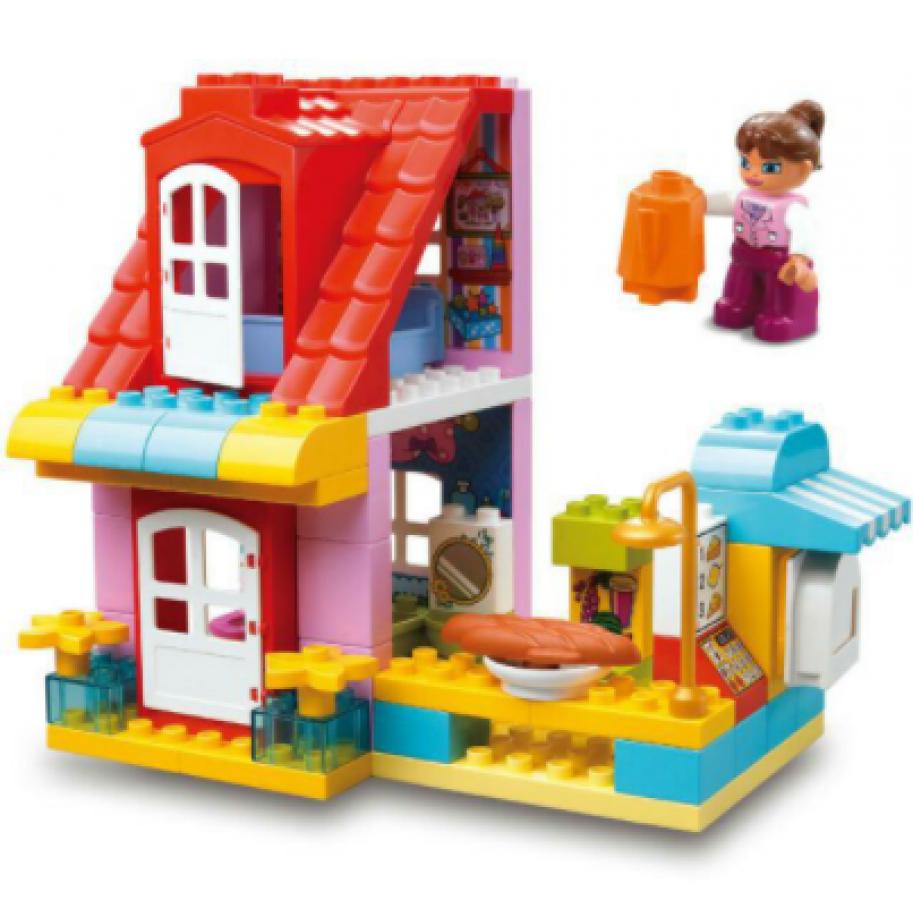 Bộ Đồ Chơi Lắp Ghép Cửa Hàng Vui Nhộn 68 Chi Tiết Toyshouse