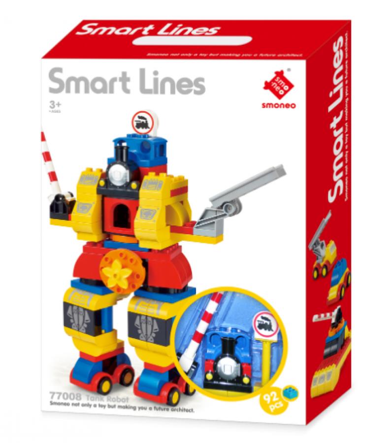 Bộ Mô Hình Lắp Ráp Robot Toyshouse