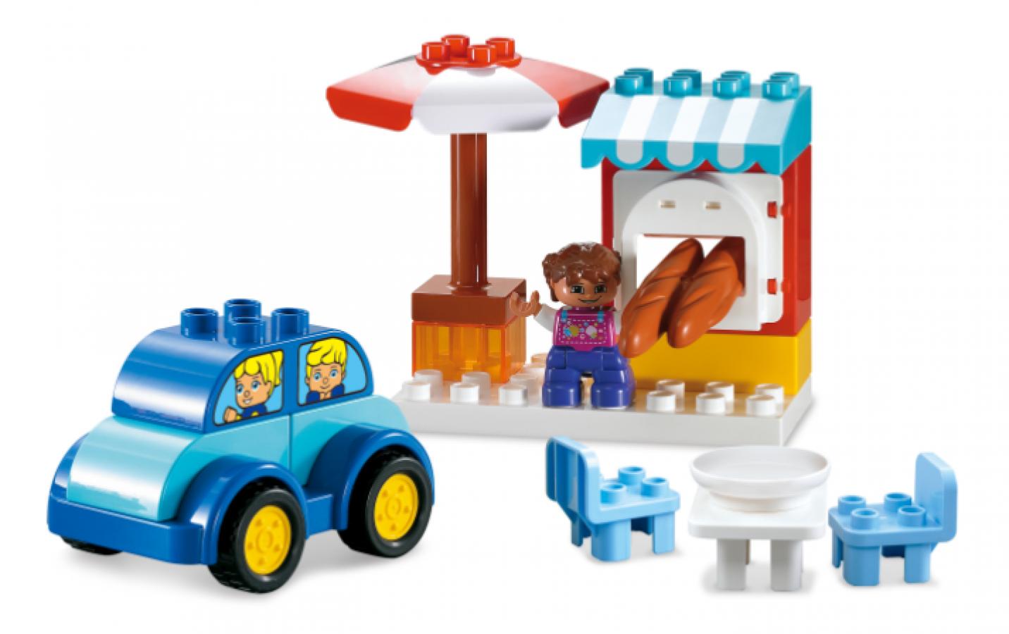 Bộ Xếp Hình Quầy Bán Hàng Toyshouse Cho Bé