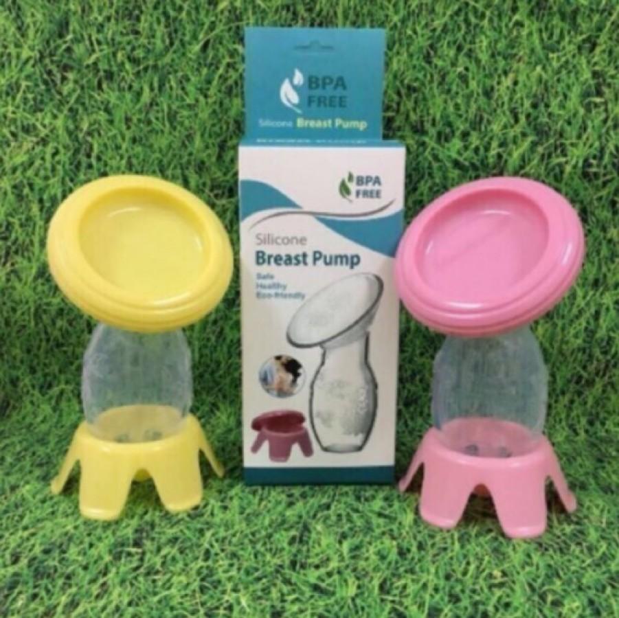 Cốc Hứng Sữa Silicon BPA Free