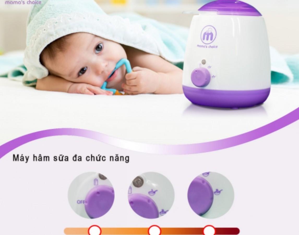 Máy Hâm Sữa Siêu Tốc Đa Chức Năng Mama's Choice Chính Hãng