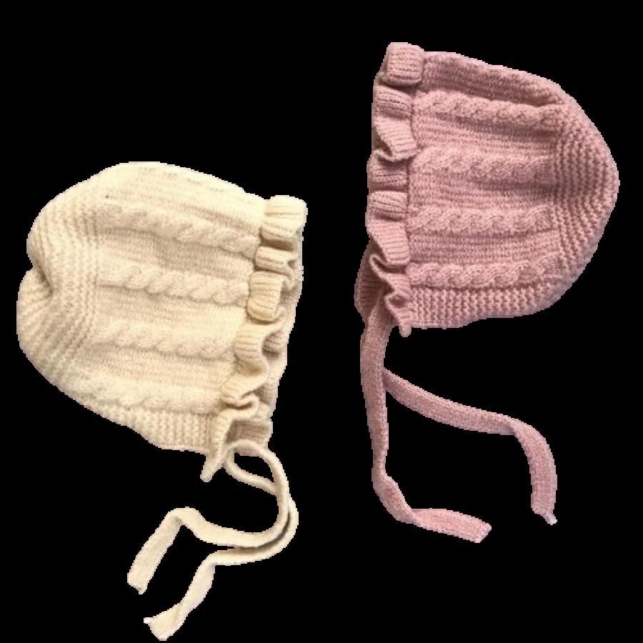 Mũ Len Tai Bèo Cho Bé