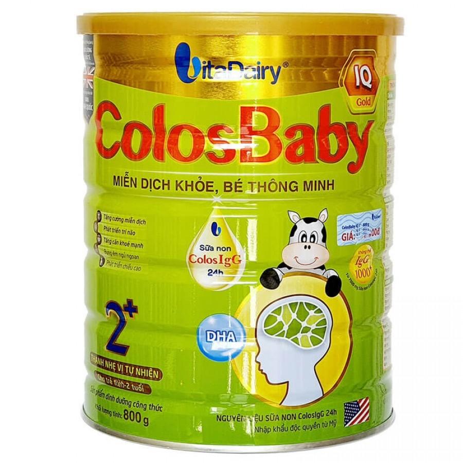 Sữa Non Colosbaby IQ Gold 2+ 800gr
