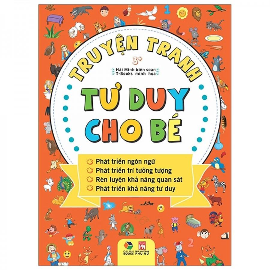 Sách Truyện Tranh Tư Duy Cho Bé